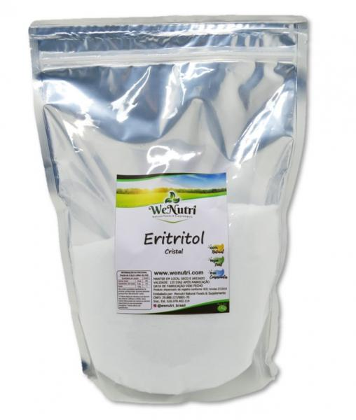 Eritritol Cristal Puro Importado 1kg Wenutri