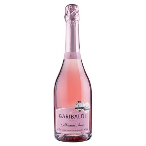 Espumante Garibaldi 750ml Moscatel Rose