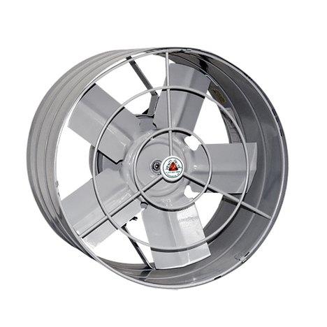 Exaustor Axial Industrial 30Cm Cinza Venti-Delta - 127V