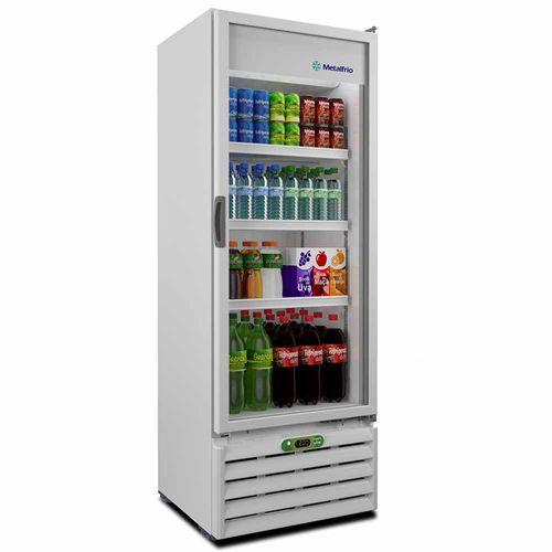 Expositor de Bebidas VB40RE Metalfrio Refrigerador de Bebidas Branco 406 Litros VB40RE 110v