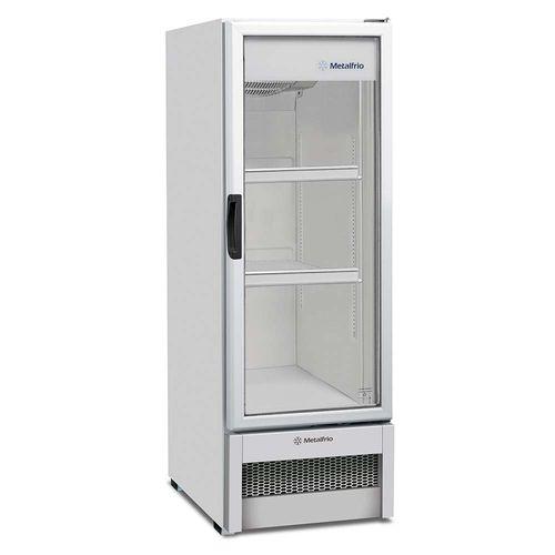 Expositor de Bebidas VB25R Metalfrio Refrigerador de Bebidas Branco 276 Litros VB25R 110v
