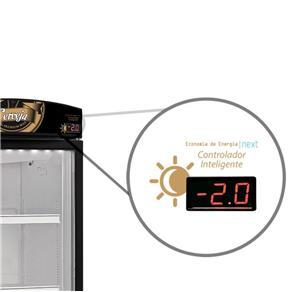 Expositor/Refrigerador Vertical 1 Porta VN50RL 497 Litros Preto - Metalfrio - 110V