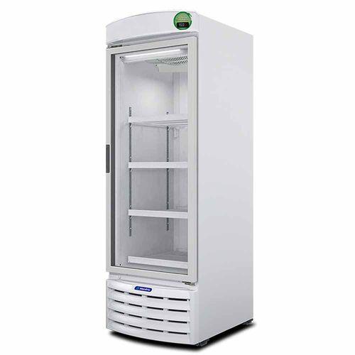Expositor Vertical VB52RE Metalfrio Refrigerador de Bebidas Branco 572 Litros VB52RE 220v