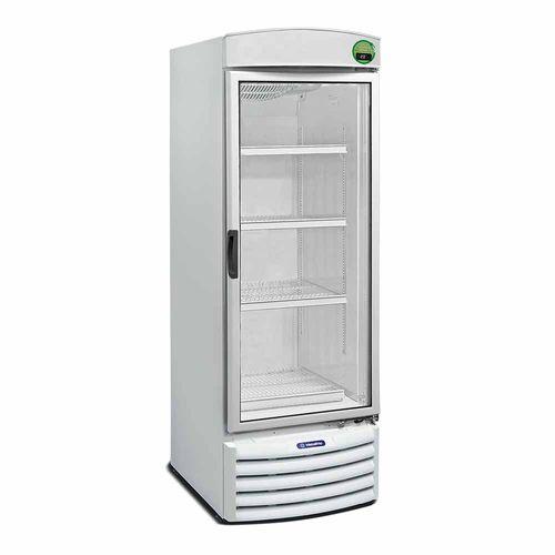 Expositor Vertical VB52RE Metalfrio Refrigerador de Bebidas Branco 572 Litros VB52RE 110v