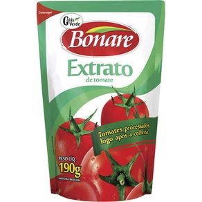 Extrato de Tomate Bonare Sache 190g