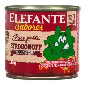 Extrato de Tomate Strogonoff Elefante Sabores 130g