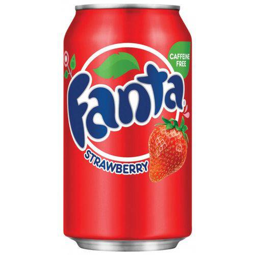 Fanta Strawberry Morango 355ml