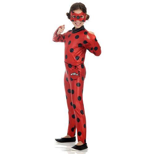 Fantasia Infantil Ladybug M - Sulamericana