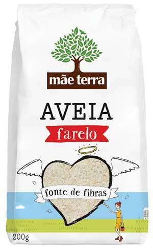 Farelo de Aveia - Mãe Terra - Integral - 200g
