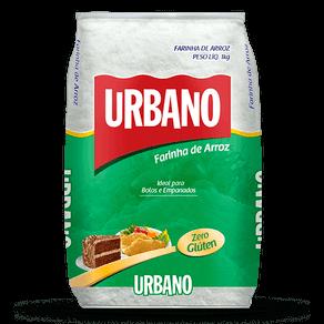Farinha de Arroz Urbano Sem Glúten 1kg