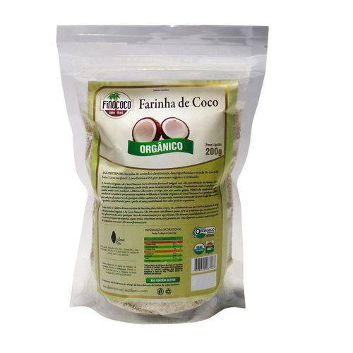 Farinha de Coco Orgânica Finococo 200g