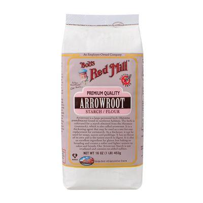 Farinha de Fécula de Araruta 453g - Bob's Red Mill