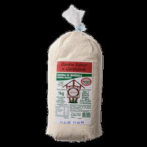 Farinha de Mandioca Alemão Branca 1kg