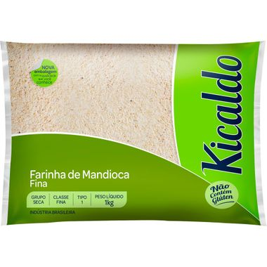 Farinha de Mandioca Fina Kicaldo 1kg