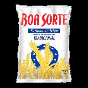 Farinha de Trigo Boa Sorte Tradicional 1kg
