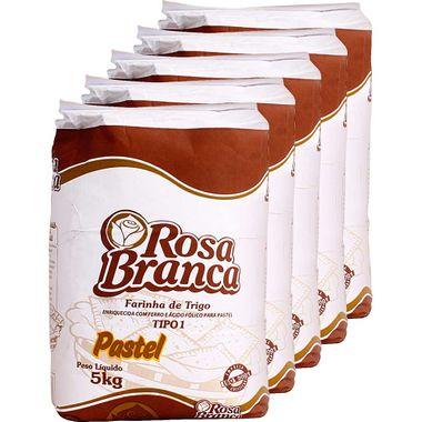 Farinha de Trigo Especial para Pastel Rosa Branca 5kg