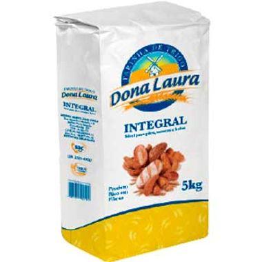 Farinha de Trigo Integral Dona Laura 5kg