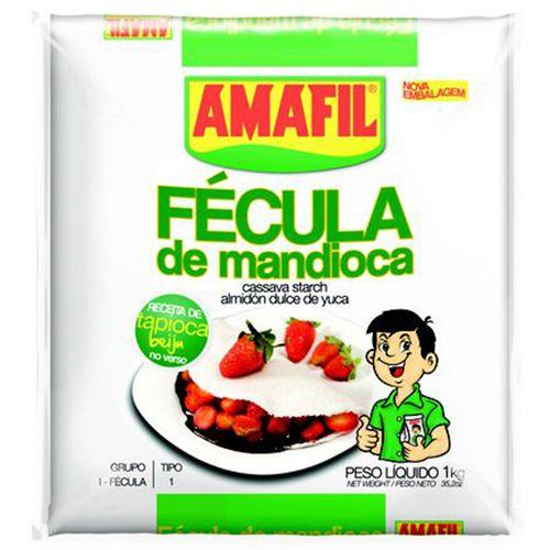 Fécula de Mandioca Amafil 1 Kg Fécula de Mandioca Amafil 1 Kg