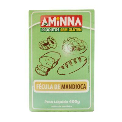 Fécula de Mandioca Sem Glúten 500g - Aminna