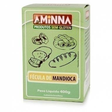 Fécula de Mandioca Sem Glúten Aminna 400G