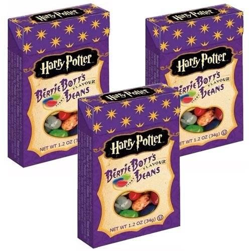 Feijõezinhos Todos Sabores Harry Potter Jelly Belly 3 Caixas