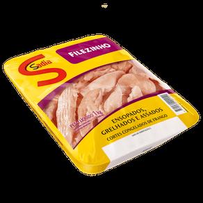 Filezinho de Frango Sadia Congelado 1kg (Bandeja)