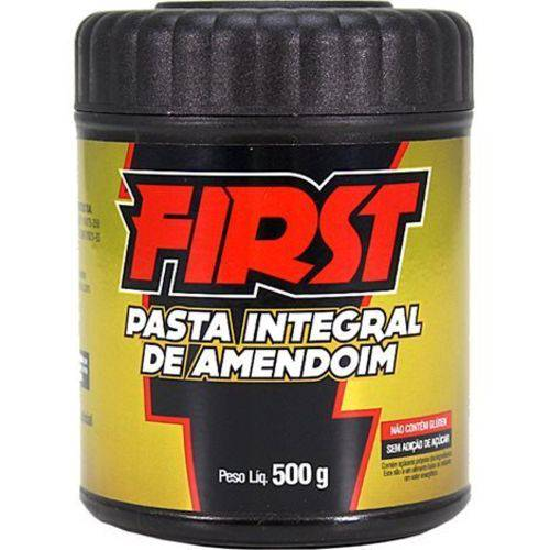 First Pasta Integral Amendoim 500 G Santa Helena