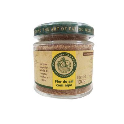 Flor do Sal com Aipo 100g - Companhia das Ervas