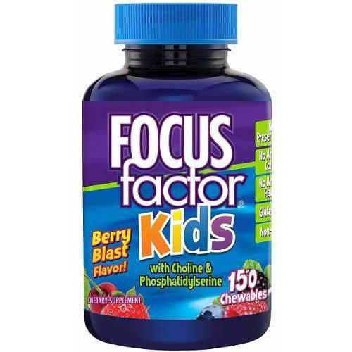Focus Factor Kids (para Crianças), 150 Gomas