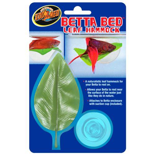 Folha para Descanso de Betta - Zoomed Betta Bed -