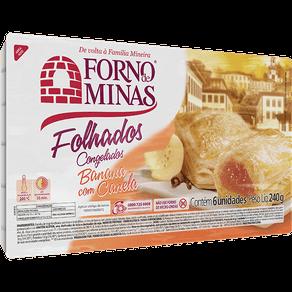 Folhados Forno de Minas Banana com Canela 240g