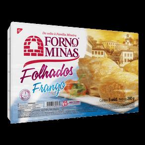 Folhados Forno de Minas Frango 240g