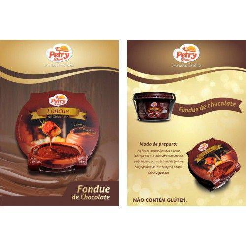 Fondue de Chocolate Petry 300g