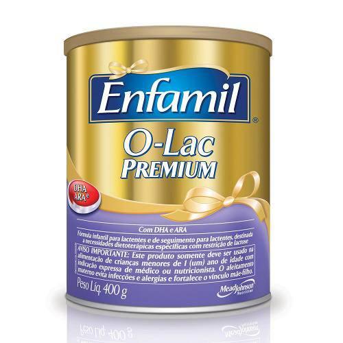 Fórmula Infantil Enfamil Premium Sem Lactose 400g