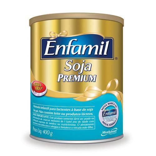 Fórmula Infantil Enfamil Premium Soja 400g