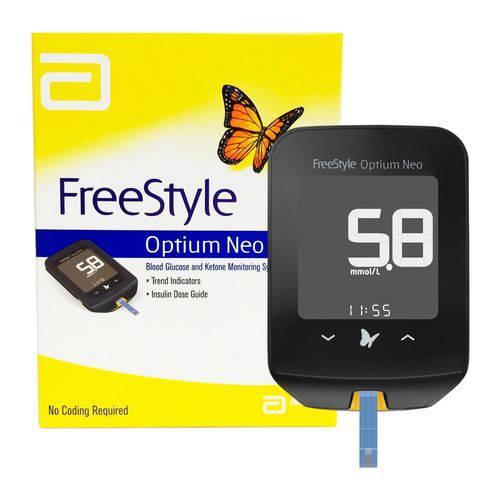 Freestyle Optium Neo Medidor de Glicose Sem Tiras