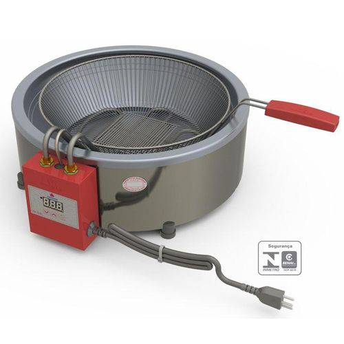 Fritadeira Industrial Progás PR70 EL, Display Digital, 7 Litros