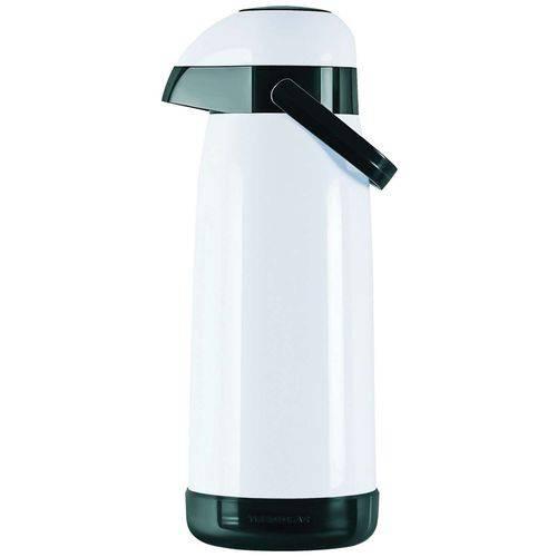 Garrafa Térmica (de Pressão) Magic Pump 1,8 L Branca/Preta T