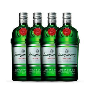 Gin Tanqueray 4x 750ml
