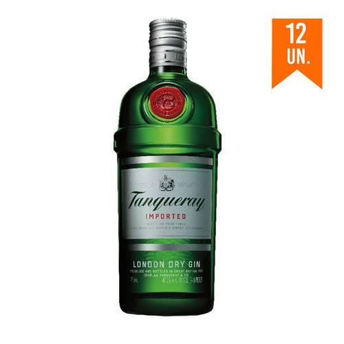 Gin Tanqueray 750ml com 12un