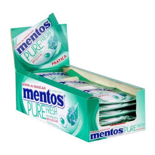 Goma de Mascar Mentos Pure Fresh Wintergreen C/15 - Perfetti