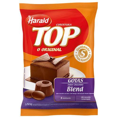 Gotas Chocolate Fracionado Top Blend 1,05kg - Harald