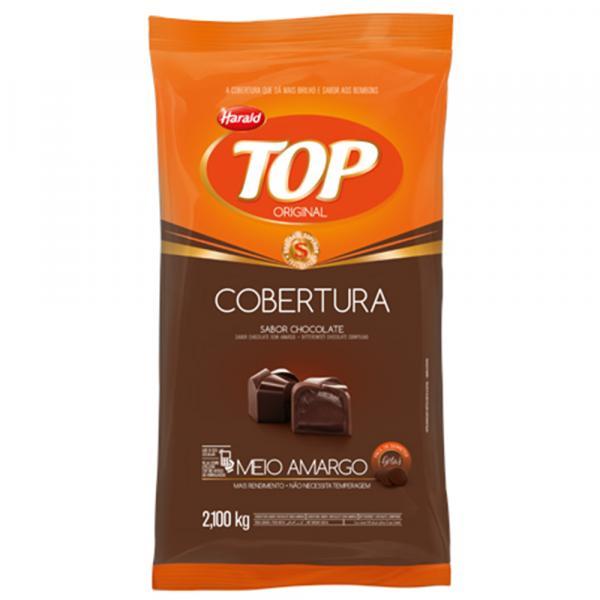 Gotas de Chocolate Fracionado Top Meio Amargo 2,1kg - Harald