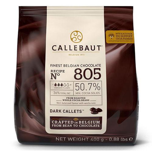Gotas de Chocolate Meio Amargo 50,7% Cacau 805 400g - Callebaut