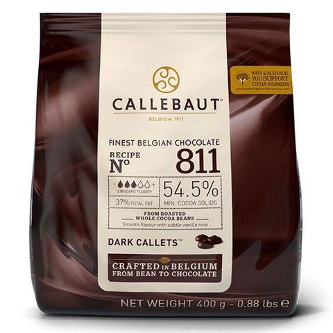 Gotas de Chocolate Meio Amargo 54,5% Cacau 811 400g - Callebaut