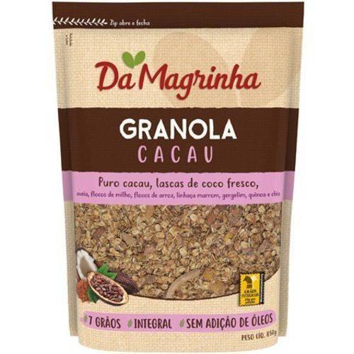 Granola Cacau 7 Grãos 850g Magrinha
