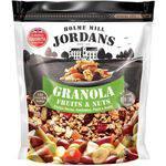 Granola Cereal Jordans Fruits e Nuts - Frutas Secas, Amêndoa, Peçã e Avelã 400g
