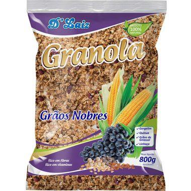 Granola D'Laiz Grãos Nobres 800g