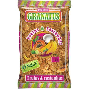 Granola Granatus Fibra Frutas 1kg