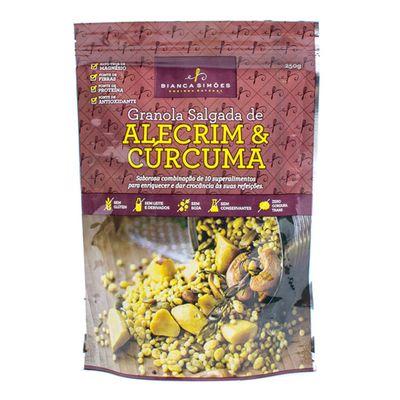 Granola Salgada de Alecrim & Cúrcuma 200g - Bianca Simões
